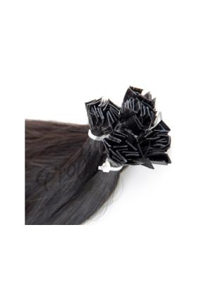 Středoevropské vlasy - přírodně černá - 1B