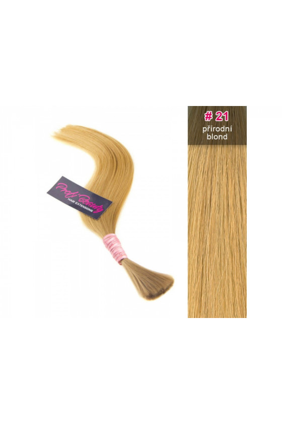 Středoevropské vlasy - přírodní blond - 21