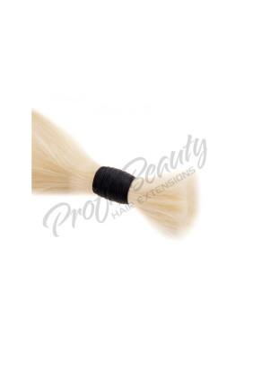 Středoevropské vlasy - bělené - platina - 60