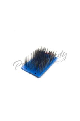 Modrý drhlen na zpracování copů/pramínkování