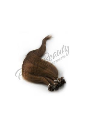 Středoevropské vlasy - mahagon - barvené