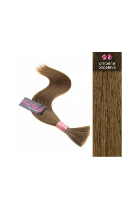 Středoevropské vlasy - přírodně popelavá - 9