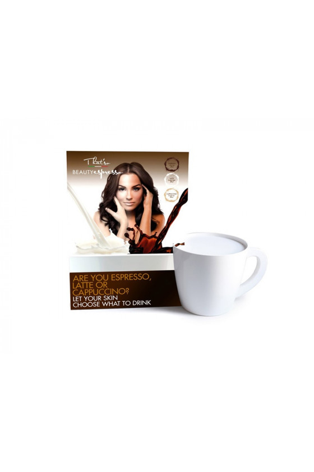 Espresso - Propagační materiál - kartonový stojan na produkty