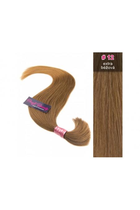 Středoevropské vlasy - extra béžová - 12