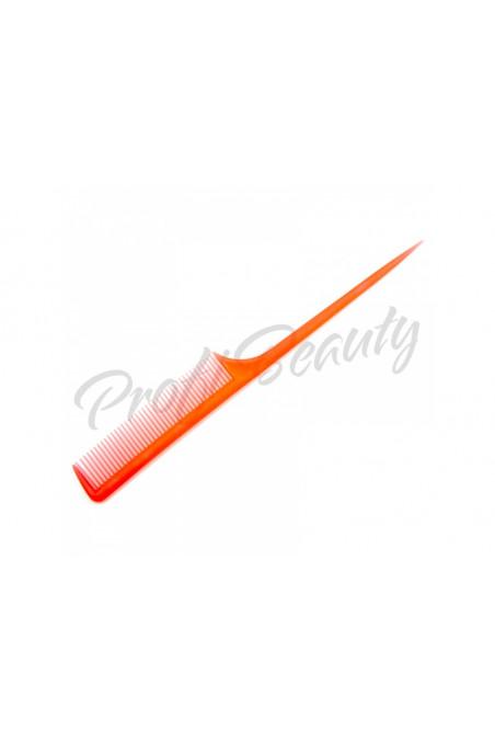 Hřeben - červený - s plastovou špičkou