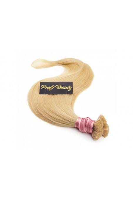 Středoevropské vlasy - bělené - tmavá blond - 27B