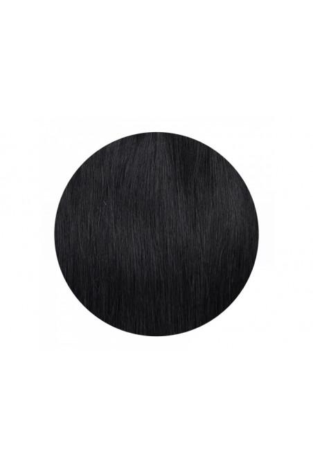 Clip In REMY CLASSIC, 120g, černá jako uhel - 1