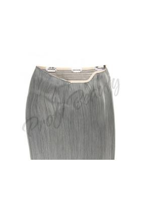 Zahušťovací vlasové pásy VOLUME, silver grey