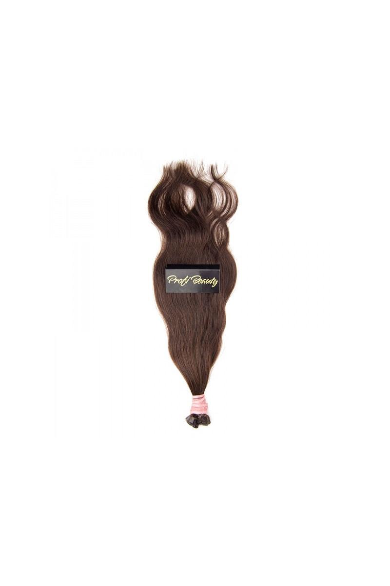 Středoevropské vlasy - barvené - kaštanově mahagonová - 32