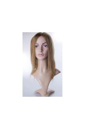 Paruka středoevropské vlasy,odstín 10, délka 30-35 cm - zakázková výroba