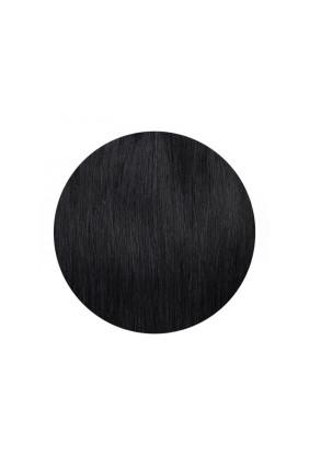 Clip In REMY HOLLYWOOD, 260 g, 50 - 55 cm, černá jako uhel - 1