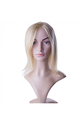 Paruka středoevropské vlasy,odstín 18/613, délka 30-35 cm - zakázková výroba