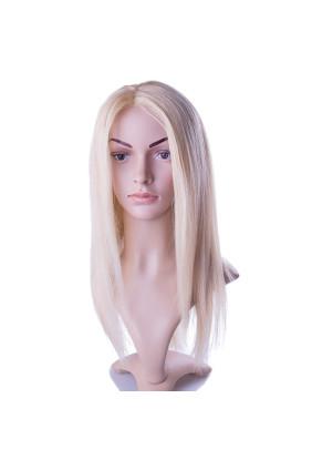 Paruka středoevropské vlasy,odstín 613, délka 40-45 cm - zakázková výroba