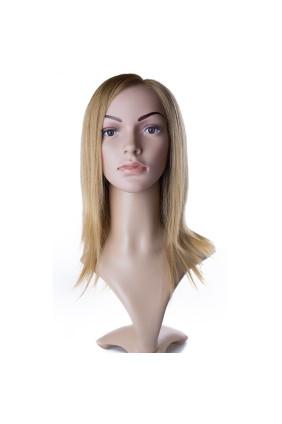 Paruka středoevropské vlasy,odstín 27, délka 30-35 cm - zakázková výroba