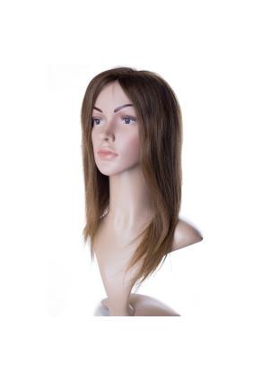 Paruka středoevropské vlasy,odstín 8, délka 35-40 cm - zakázková výroba