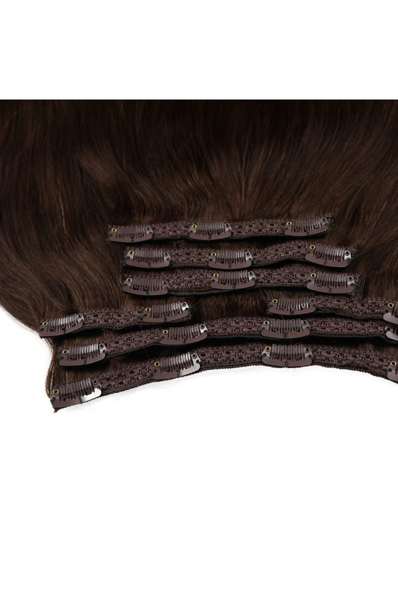 Clip In REMY HOLLYWOOD, 260 g, 50 - 55 cm, ombre - 2/6