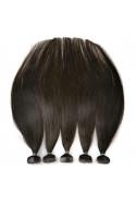 Barvené vlasové pásky ProfiBeauty® - tmavě hnědá - 2