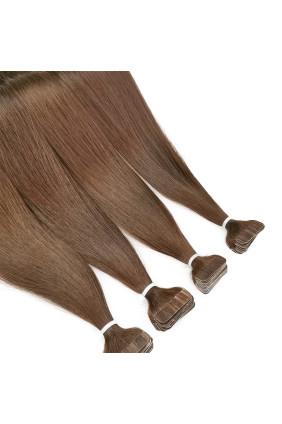 Barvené vlasové pásky ProfiBeauty® - měděný kaštan - 17