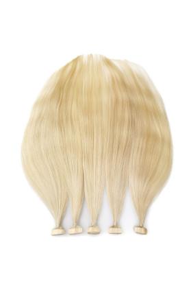 Barvené vlasové pásky ProfiBeauty® - melír světlý - 18/613