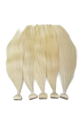Barvené vlasové pásky ProfiBeauty® - světlá blond - 22