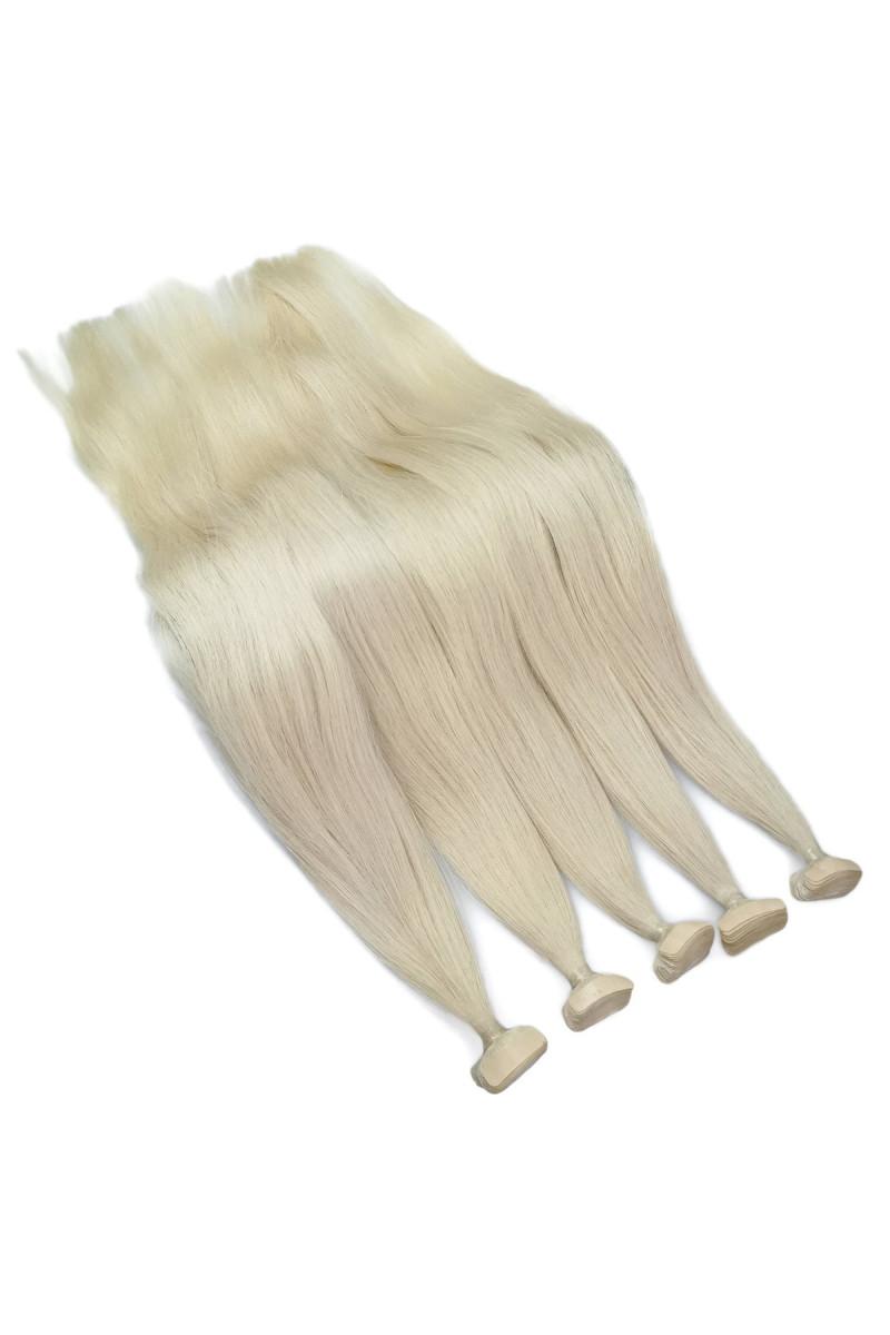 NANOTAPE - Středoevropské -bílá blond - 61