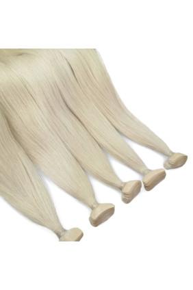 Barvené vlasové pásky ProfiBeauty® - platinová extra - 24