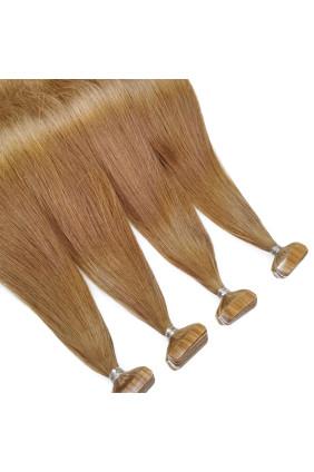 Barvené vlasové pásky ProfiBeauty® - přírodní zrz - 35