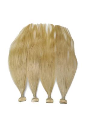 Barvené vlasové pásky ProfiBeauty® - tmavá blond - 27