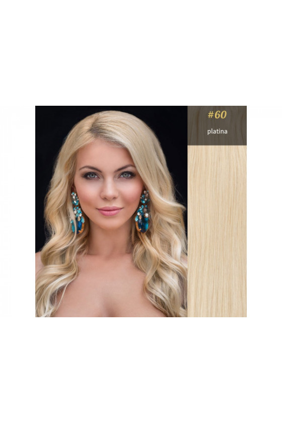 Clip In REMY CLASSIC, 120g, platina - 60
