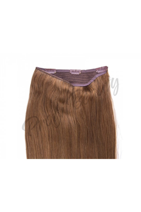 Zahušťovací vlasové pásy VOLUME, světle hnědá - 8
