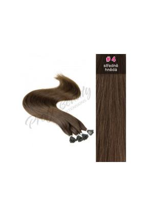 Středoevropské vlasy - středně hnědá - 4