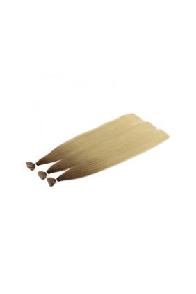 Syntetická paruka s ofinou zvlněná Natural - 60-65 cm, melír 18/613