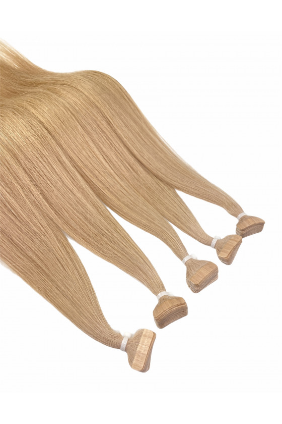 Barvené vlasové pásky ProfiBeauty® - atypická tmavá blond - 27-3