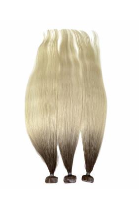 Barvené vlasové pásky ProfiBeauty® - ombre - 6/61