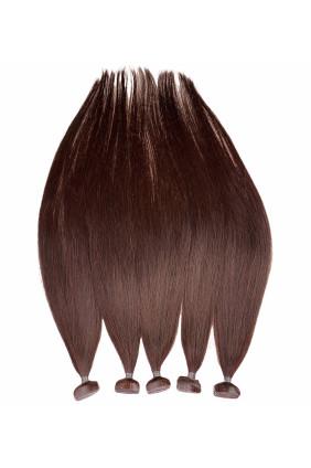 Barvené vlasové pásky ProfiBeauty® - kaštanově mahagonová -32