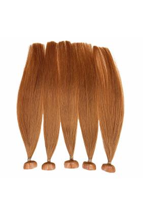 Barvené vlasové pásky ProfiBeauty® - ohnivá zrz - 130