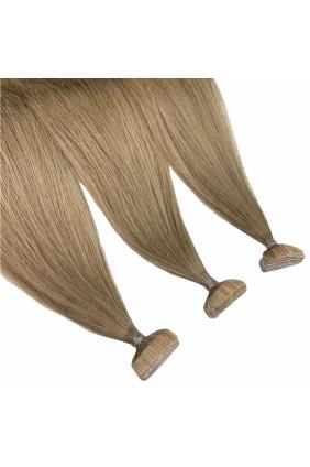 Barvené vlasové pásky ProfiBeauty® - světle hnědá popelavá - 11