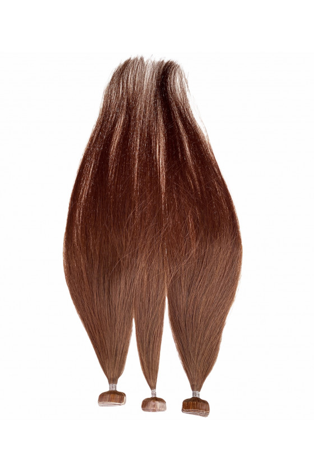 Barvené vlasové pásky ProfiBeauty® - tmavý mahagon - 33