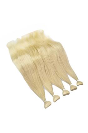 Barvené vlasové pásky ProfiBeauty® - zlatá blond - 25