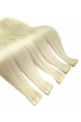 PREMIUM - Středoevropské barvené - bílá blond - 61