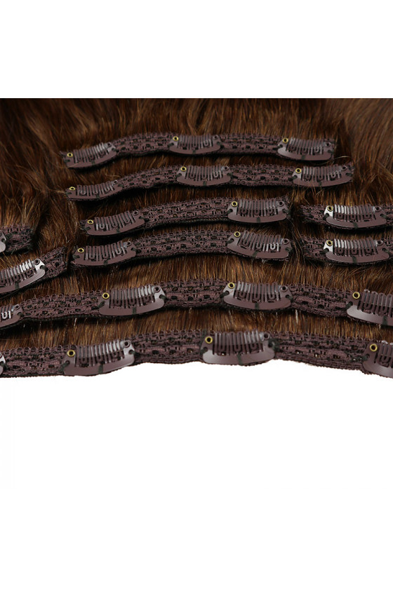 Clip In REMY CLASSIC, 120g, ombre - 4/18