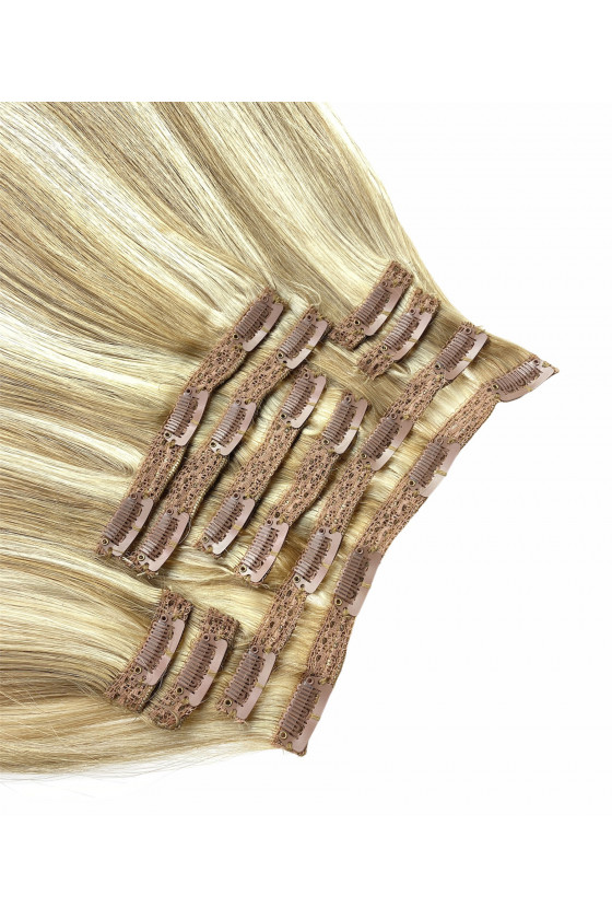 Clip In REMY CLASSIC, 120g, melír -18/60A