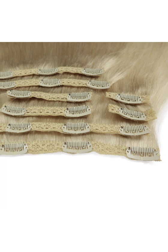 Clip In REMY HOLLYWOOD, 260 g, 50 - 55 cm, platina - 60