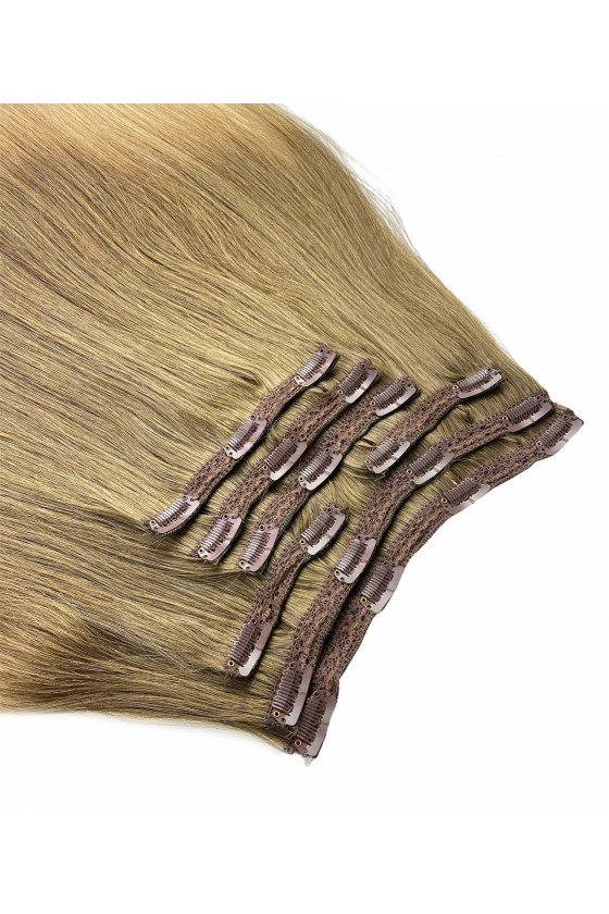 Clip In REMY HOLLYWOOD, 260 g, 50 - 55 cm, ombre - 8/14