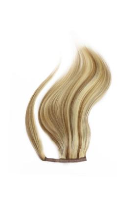 Culík - ponytail - melír světle hnědá/platina - 8/60, 100 g