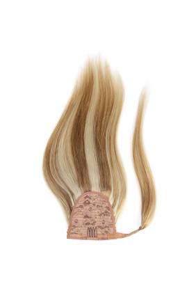 Culík - ponytail - melír písková/platina extra- melír 18/24, 100 g