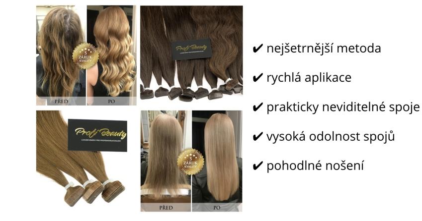 Vlasové pásky NanoTape® vyrábíme z pravých lidských vlasů vykupovaných v ČR  nebo okolních státech. Jsme vůbec jediní f3f6dc380b