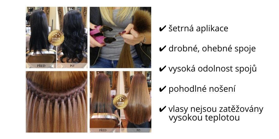V ceně kurzu je i nutné školení na práci s ním. Pro tuto metodu naleznete v  naší nabídce již nakeratinované vlasy té nejvyšší kvality. 3a7c3a862f
