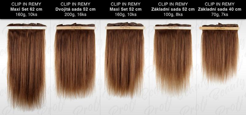 Porovnávač clip in vlasů